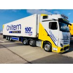 Chiltern Distribution's 100th Trailer built by Gray & Adams